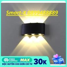 Đèn led trang trí hắt tường 2 đầu 6 mắt led. Đèn hắt tường LED chiếu sáng, đèn led gắn tường cao cấp. Cam kết hàng uy tín giá tốt.