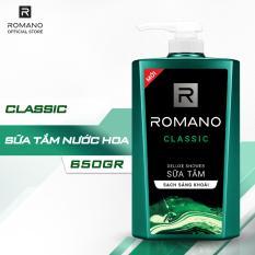 Sữa tắm Romano Classic 650g