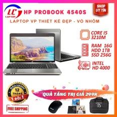 Laptop Giá Rẻ Chơi Game Đồ Họa Cơ Bản HP 4540s Vỏ Nhôm Màu Bạc, i5-3210M, VGA Intel HD 4000, Màn 15.6HD, LaptopLC298