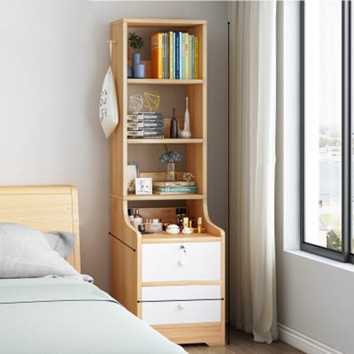Táp đầu giường kèm giá sách 145cm Táp tủ đầu giường 4 kệ đa năng PUK013