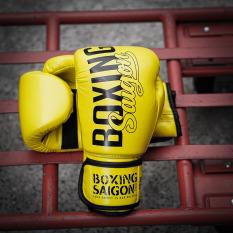 Găng Tay Boxing Saigon Inspire – Yellow