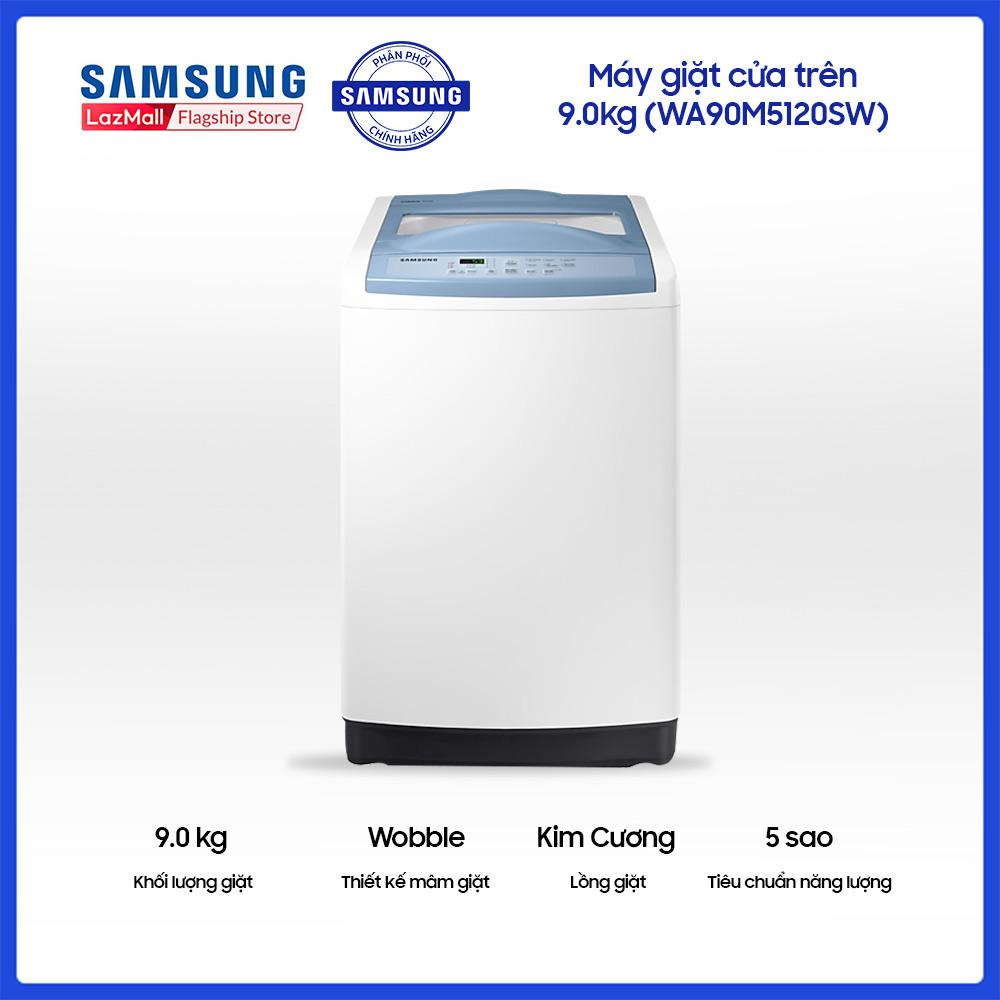 Máy giặt cửa trên Samsung 9.0kg – WA90M5120SW giá rẻ 6.450.000₫