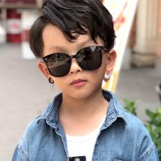 Kính mát thời trang cho bé từ 2-9 tuổi, kính chống nắng cho học sinh tiểu học mặt tráng gương chống tia UV400 siêu dễ thương mã 1533