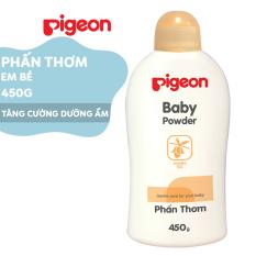 Phấn thơm em bé Pigeon Nắp màu 450g