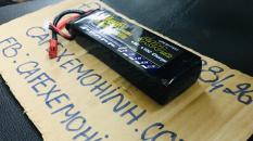 pin lipo 2s 7.4v 5400 30c chuyên dụng cho đồ chơi điều khiển như xe, tàu và flycam chơi 40p