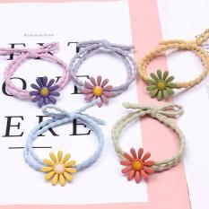 Dây Buộc Tóc Đẹp Hình Hoa Cúc 2019