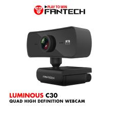 Webcam Livestream Chuyên Nghiệp FANTECH C30 LUMINOUS 4MP Hỗ Trợ Quay Chất Lượng 2K – Hãng Phân Phối Chính Thức