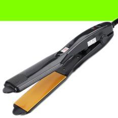 Máy duỗi thẳng tóc chỉnh nhiệt – máy bấm tóc xù lưỡi vàng – TM067
