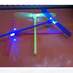 Combo 2 máy bắn chong chóng phát sáng -đồ chơi kinh điển ký ức tuổi thơ (giao màu ngẫu nhiên)