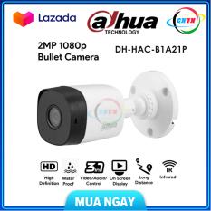 [NHÀ PHÂN PHỐI] Camera 2.0Mpx Dahua DH-HAC-B1A21P hồng ngoại HDCVI-Công Nghệ Việt Nam
