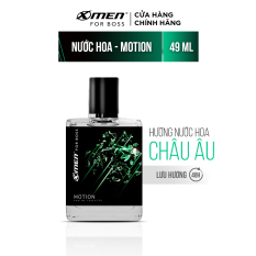 Nước hoa EDT X-Men for Boss Motion – Mùi hương năng động phóng khoáng 49ml