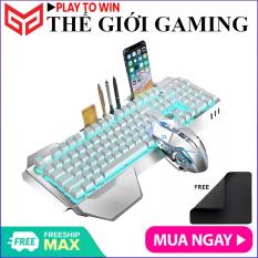 ZIYOU LANG K680 | Combo bàn phím và chuột không dây sạc pin dành cho các game thủ có Led cao cấp – Hãng phân phối chính thức
