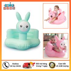 Ghế tập ngồi cho bé, ghế bơm hơi cực kì êm ái và thoải mái cho bé