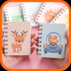 Sổ Mini cầm tay hình bé BƠ cute – Giấy dày dặn, ghi êm – Sổ ghi kế hoạch, note việc, thời gian giá rẻ