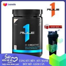 [TẶNG BÌNH LẮC] R1 Creatine của Rule 1 hỗ trợ Tăng Sức Bền, Sức Mạnh đốt mỡ giảm cân, giảm mỡ bụng cho người tập Gym và chơi thể thao – phân phối chính thức