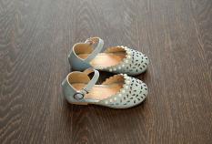 giày Dép Bé Gái Size 26-35 Đính Ngọc
