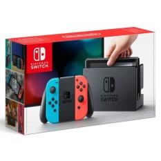 Bộ máy chơi game Nintendo Switch With Neon Blue Red Joy-Con
