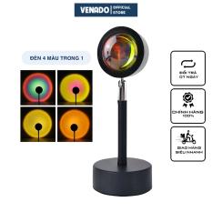 Đèn chiếu cầu vồng sống ảo tik tok đèn hỗ trợ chụp ảnh làm video hình hoàng hôn, mặt trời, cầu vồng Venado