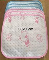 Lót chống thấm thay bỉm cho bé sơ sinh siêu mềm siêu thấm kích thước 30 x30cm