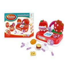 Bộ đồ chơi nhà bếp đổi màu thức ăn dùng pin VBC-XG2-1