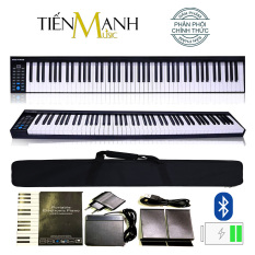 Đàn Piano Điện Konix PH88 hãng phân phối chính thức (Kết nối máy tính và điện thoại Bluetooth Pin sạc Loa lớn – Phần mềm và Hướng dẫn Tiếng Việt – Tặng bao đựng)