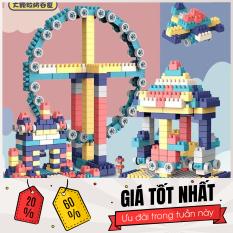 lego 520 chi tiết- Đồ chơi lắp ghép phát triển trẻ toàn diện – [HÀNG LOẠI 1] Bộ xếp hình Lego Vòng Quay Khồng Lồ 260 – 360 – 520 chi tiết