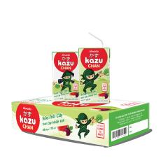 [Tinh tuý dưỡng chất Nhật Bản] Kazu Chan – Sữa trái cây Trái cây nhiệt đới (Thùng 48 hộp 110ml)
