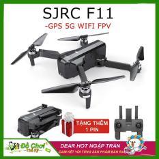 [ BỘ SẢN PHẨM 2 PIN ] Máy bay Flycam SJRC F11. Động cơ không chổi than. Camera 1080p. Bay 25 phút. Khoảng cách bay 1200m FPV 500m ( sjrc z5, bugs 5w, bugs 2w, bugs 2se )