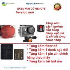 [GIÁ SỐC] Version 7.0 nâng cấp 20MP – Camera hành trình Eken H9R- Bảo hành 12 tháng, Đổi tra 1 vs 1- tặng filter đỏ, dock sạc đôi và pin 1050 cho camera thể thao – Shop thế giới điện máy