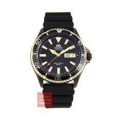 Đồng hồ nam dây cao su Orient Mako III RA-AA0005B19B đường kính 41.5 mm, độ chịu nước 20ATM, kính Sapphire chống trầy, máy cơ phong cách thể thao