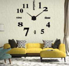 Đồng hồ dán tường DIY 40×40 + Pin, số & chữ tiếng anh – Đồng hồ treo tường – Nhiều mẫu – DH76