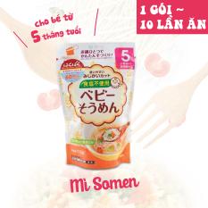 Mỳ Somen không muối dành cho bé ăn dặm HAKUBAKU 100g – Nhập khẩu chính ngạch từ Nhật Bản (1 gói ~ 10 lần ăn)