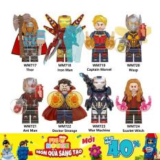 Minifigures Các Nhân Vật Siêu Anh Hùng Marvel – Đồ Chơi Lắp Ráp WM6063