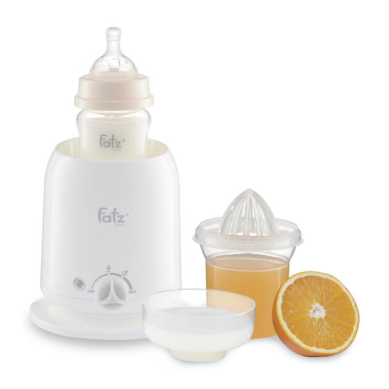 Máy Hâm Sữa Và Thức Ăn Siêu Tốc 3 Chức Năng FatzBaby FB3002SL,Chất Liệu Nhựa Không BPA An Toàn,Thiết Kế...