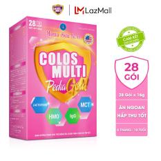 Sữa non Colosmulti Pedia Gold chuyên biệt cho trẻ biếng ăn và hấp thu kém, hộp 28 gói x 16g, dành cho trẻ 6 tháng – 10 tuổi