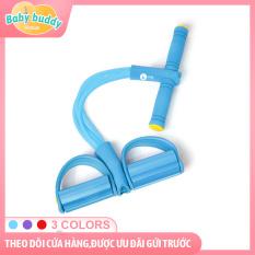 [Eo thon dáng gọn cho mẹ bỉm] Bàn đạp dây kéo 4 ống đàn hồi, dụng cụ hỗ trợ gập bụng, thiết bị tập thể dục tại nhà, giảm mỡ bụng sau sinh, dụng cụ tập eo thon gọn và săn chắc cho mẹ tại nhà