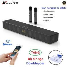 Dàn Karaoke JY Audio TVS 300K Soundbar Bluetooth 120W âm thanh 5.1 – Tặng Bộ Pin Sạc