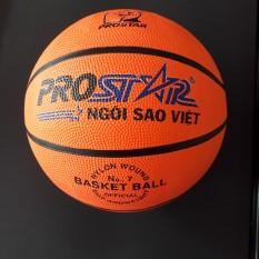 quả bóng rổ prostar số 7, trái banh rổ, bóng rổ cam size 7, có bề mặt sần, ép nổi, quả bóng ngôi sao. phù hợp với nam, nữ và trẻ em trên 10 tuổi dùng để tập luyện và thi đấu