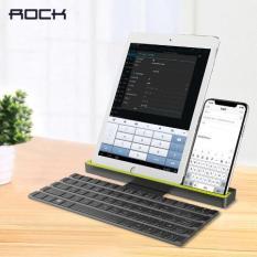 Bàn phím bluetooth Rock Multi-function Rollable Bluetooth Keyboard R4 dùng cho Iphone Ipad Laptop PC, chức năng Rollable có thể gấp gọn mang theo dễ dàng