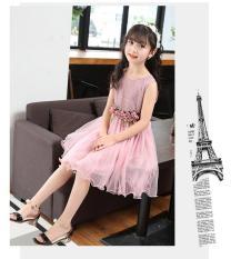 Váy đầm ren công chúa xinh xắn cho bé đi chơi, dự tiệc V10 (từ 14-36Kg) – BAO CHẤT ĐẸP