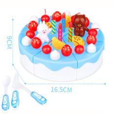 Bộ đồ chơi bánh kem sinh nhật cao cấp 39 chi tiết bằng nhựa PE an toàn cho bé yêu BBShine – DC020