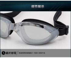 Kính bơi chống sương mù (Antifog), tráng gương chống chói RUIHE 8100 loại tốt cao cấp, chống tia UV