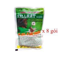 Thuốc diệt chuột Kiirat 50gr ( không cần trộn đồ ăn )