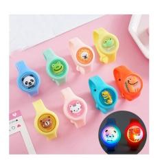 Đồng hồ chống đuổi muỗi tinh dầu Vòng đeo tay chống muỗi led phát sáng cho trẻ em và cho bé M28