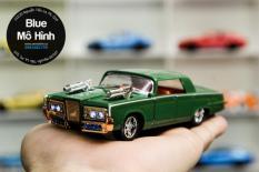 Xe mô hình Chrysler Imperial Green Hornet 1:36