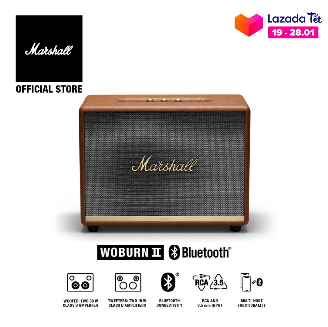 [VOUCHER 50K] [Hàng chính hãng] Loa Bluetooth Marshall WOBURN II Homeline – 1 năm bảo hành