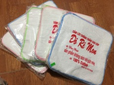 SET 10 Tấm lót chống thấm bền đẹp cho bé giặt máy được Đô Rê Mon ( 10 chiếc )