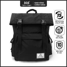 Balo Laptop Fold Saigon Swagger SGS – Balo Laptop Thời trang, Chất liệu Polyester tráng PU cao cấp, trượt nước chống thấm nước, Ngăn chống sốc riêng biệt, Độ bền cao, Nhiều ngăn, Balo Học Sinh