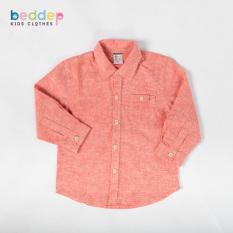 Áo sơ mi Beddep Kids Clothes cho bé trai từ 1 đến 8 tuổi B09