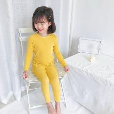 set bộ dài tay bé trai, gái vải len tăm size 5-25kg